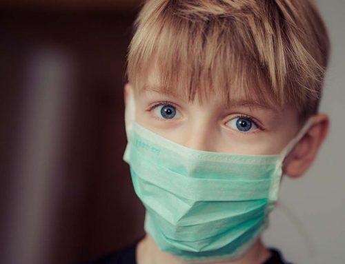 Masken bei Kindern ab 12 Jahren