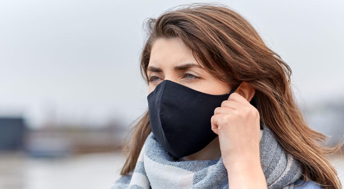 Hygienemaske aus Stoff