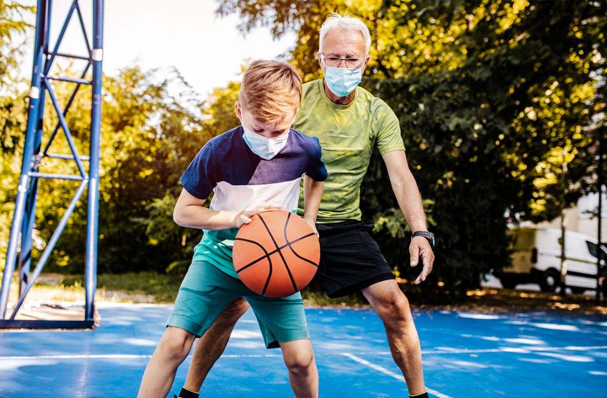 Kind Maske Sport